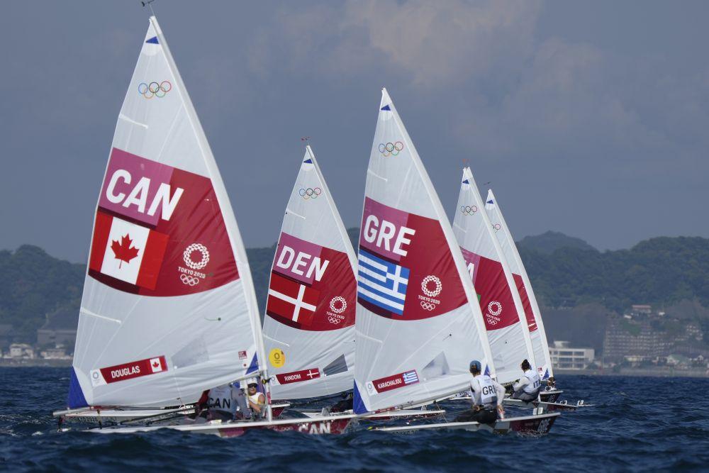 Ολυμπιακοί Αγώνες – Tόκιο 2020: 9ηη Βασιλεία Καραχάλιου σταLaserRadial