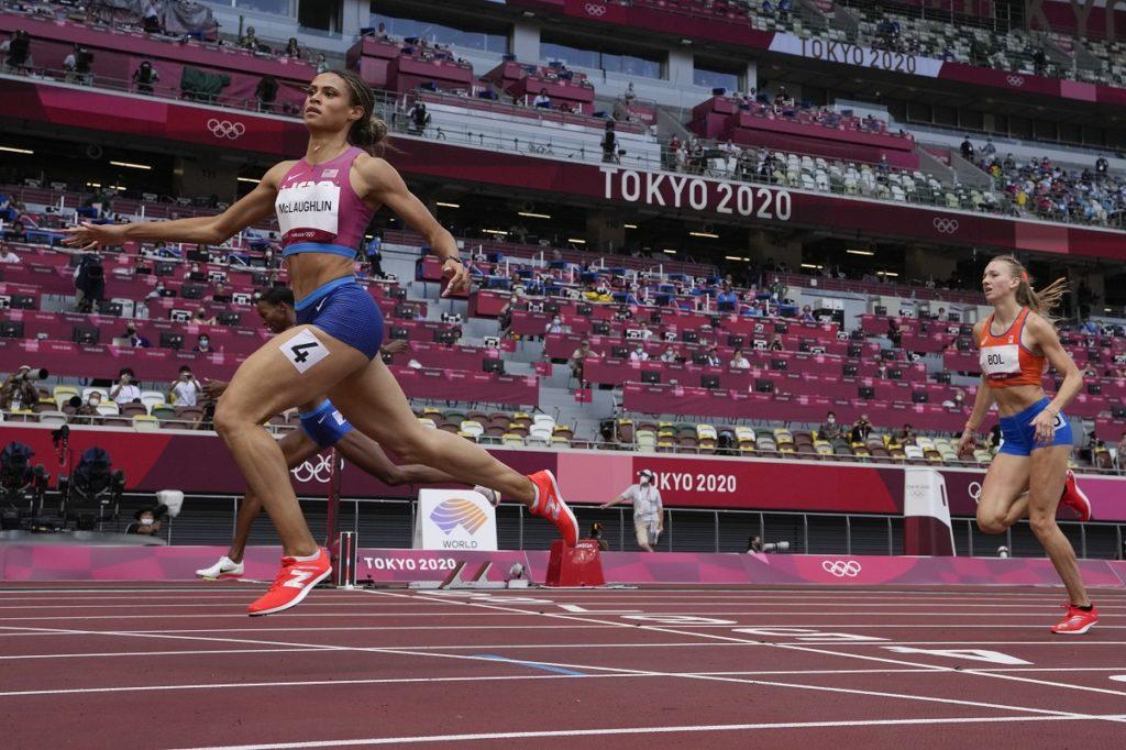 Τόκιο 2020: Παγκόσμιο ρεκόρ και η ΜακΛάφλιν στα 400 με εμπόδια