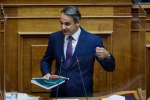 Προσπάθεια Μητσοτάκη να κεφαλαιοποιήσει τη συμφωνία με τη Γαλλία με ενημέρωση της Βουλής