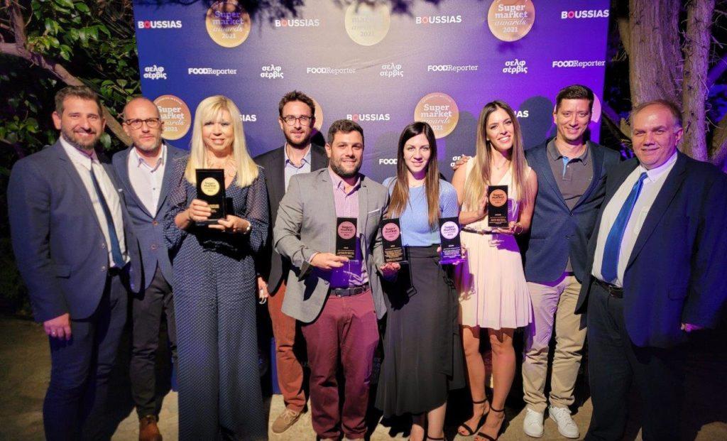 Κορυφαίος προμηθευτής της 10ετίας η ΔΕΛΤΑ στα Super Market Awards 2021!