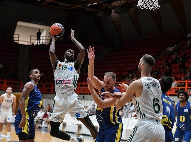 Μπάσκετ: Αγχώθηκε αλλά νίκησε ο Παναθηναϊκός