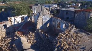 Σεισμός στην Κρήτη: Το μέγεθος της καταστροφής από ψηλά