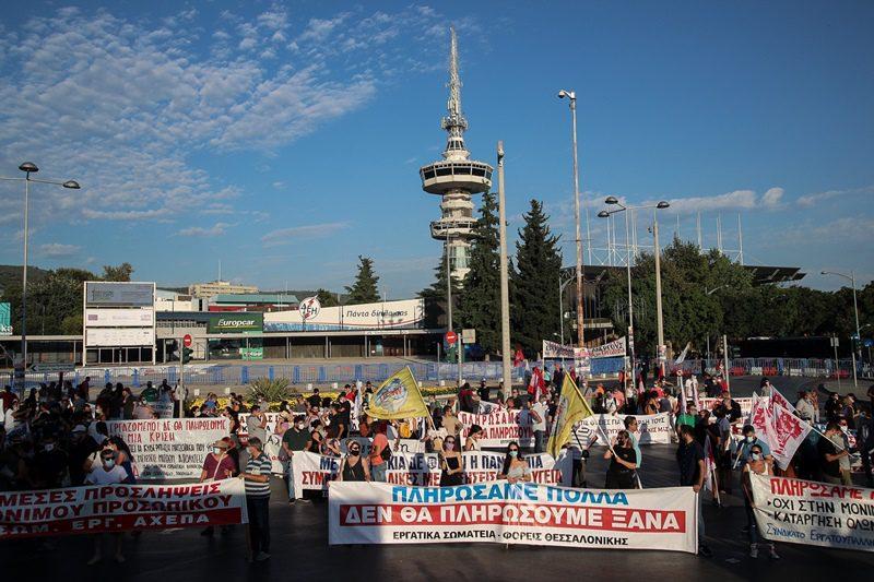 Θεσσαλονίκη: Μπαράζ κινητοποιήσεων στη ΔΕΘ