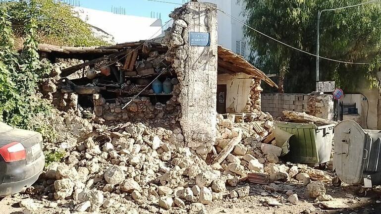 Σεισμός στο Ηράκλειο: Συνεχείς οι σεισμικές δονήσεις