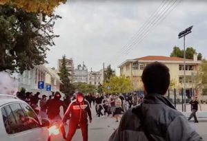 Ένα χρόνο μετά την καταδίκη της Χρυσής Αυγής, το νεοναζιστικό μόρφωμα κάνει την επανεμφάνισή του