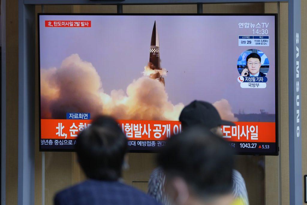 Βόρεια Κορέα: Η Πιονγκγιάνγκ εκτόξευσε δύο νέους βαλλιστικούς πυραύλους