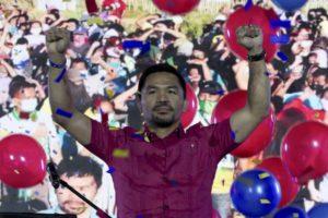 Φιλιππίνες: Ο Μάνι Πακιάο θέλει να βγάλει «νοκ-άουτ» το Ντουτέρτε στις εκλογές