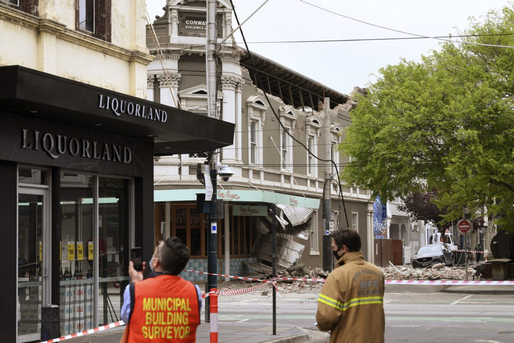 Αυστραλία: Ισχυρός σεισμός 5,8 Ρίχτερ