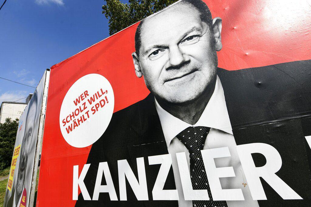 Γερμανία – Eκλογές: Σίγουρος για τη νίκη του SPD δηλώνει ο Όλαφ Σολτς