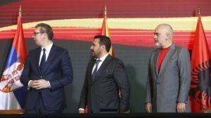 Αλβανία, Βόρεια Μακεδονία και Σερβία δημιουργούν βαλκανική Σένγκεν