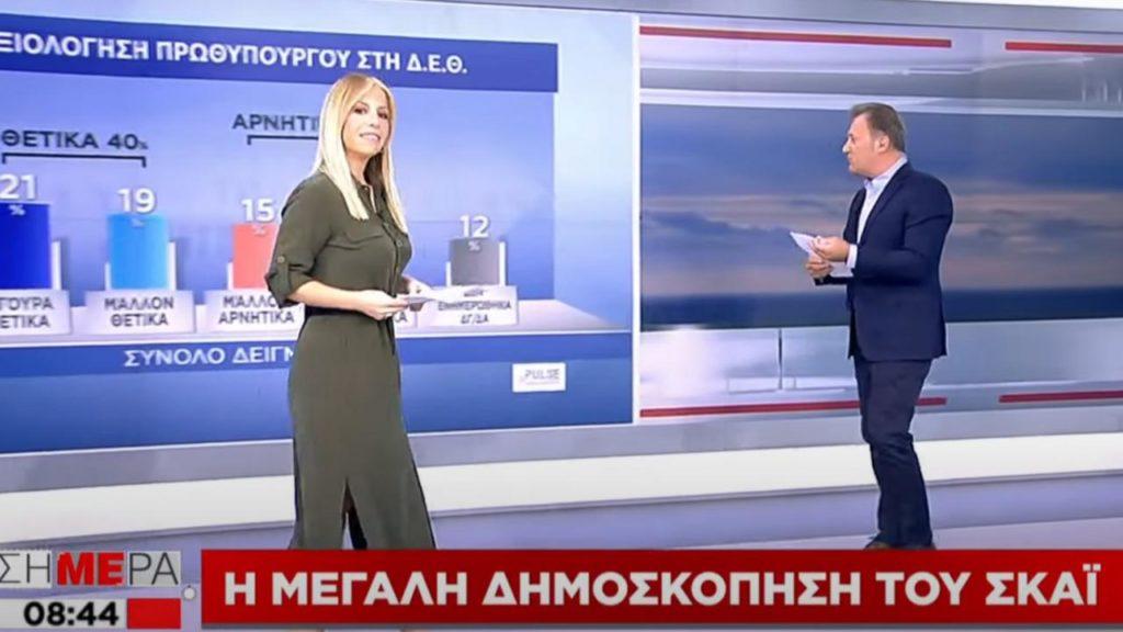 Χαμός στον ΣΚΑΙ: Η Αναστασοπούλου βρίσκει «ενδιαφέρον» το ότι ο Μητσοτάκης δεν έπεισε (Video)