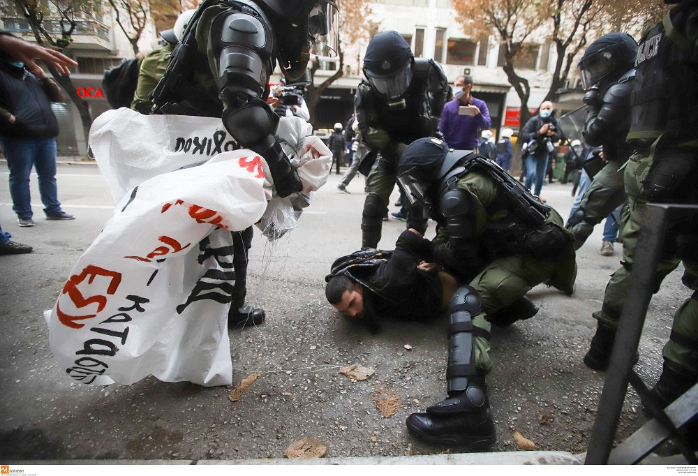 Αντιδράσεις για τις δίκες των συλληφθέντων της πορείας του Πολυτεχνείου