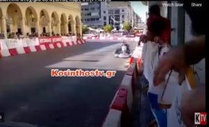 Πάτρα: Πέντε συλλήψεις για τον τραυματισμό 6χρονου σε αγώνα καρτ (video)
