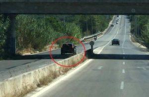 Κρήτη: Οδηγούσε ανάποδα για χιλιόμετρα στον ΒΟΑΚ (Photo)
