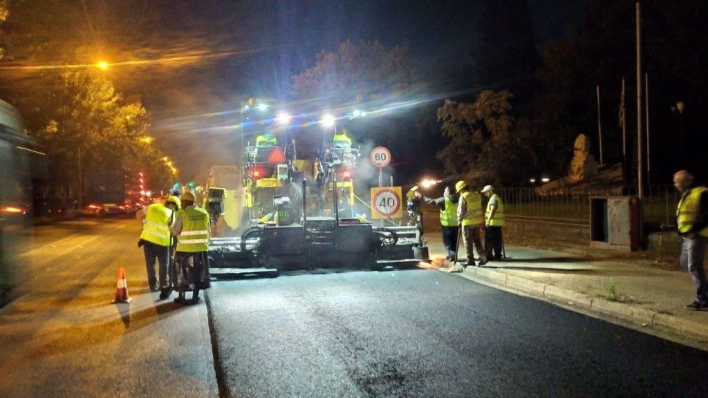 Τα έργα ασφαλτόστρωσης σε Λεωφόρους Αθηνών και Κηφισού θα διαρκέσουν ένα έτος