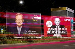 Γερμανικές εκλογές: Θρίλερ με ισοπαλία Χριστιανοδημοκρατίας και Σοσιαλδημοκρατίας στο 25%
