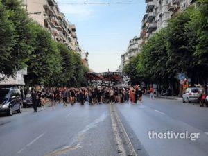 Θεσσαλονίκη: Μαζική πορεία για τα 8 χρόνια από τη δολοφονία του Παύλου Φύσσα