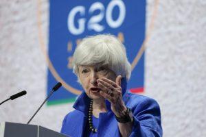 ΗΠΑ: Πίεση Γέλεν στο Κογκρέσο για αύξηση του ορίου χρέους