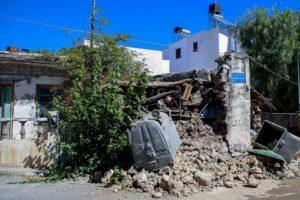 Σεισμός στο Ηράκλειο: Αποκαρδιωτικές εικόνες από το Αρκαλοχώρι – Ακατοίκητα τα σπίτια