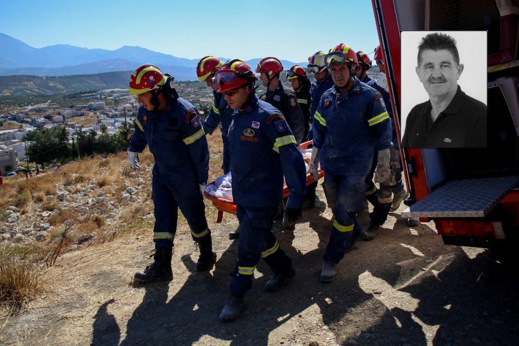 Σεισμός στο Ηράκλειο: Αυτός είναι ο 65χρονος που σκοτώθηκε στο εκκλησάκι του Προφήτη Ηλία