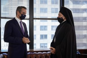 Μετά από παλινωδίες πραγματοποιήθηκε η συνάντηση Μητσοτάκη – Αρχιεπισκόπου Αμερικής