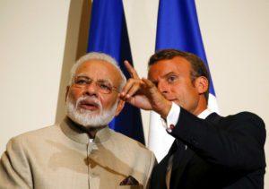Κοινή δράση Γαλλίας και Ινδίας ως απάντηση στο AUKUS