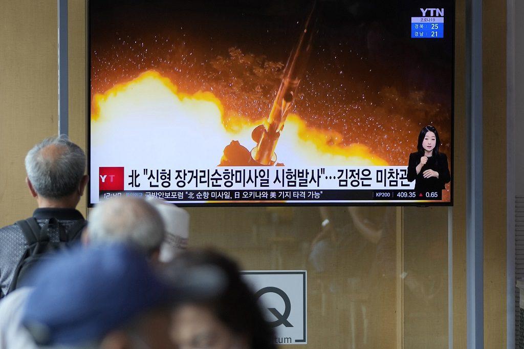 Η Βόρεια Κορέα δείχνει τα δόντια της στη Δύση – Δοκίμασε νέο πύραυλο τύπου κρουζ