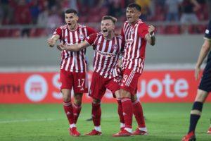 Ολυμπιακός: Δύσκολα, αλλά νίκησε 2-1 την Αντβέρπ στην 1η αγωνιστική των ομίλων του Γιουρόπα
