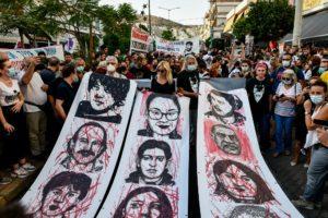 Επέτειος Παύλου Φύσσα: Πλήθος κόσμου στην αντιφασιστική πορεία στο Κερατσίνι (Photos/Video)