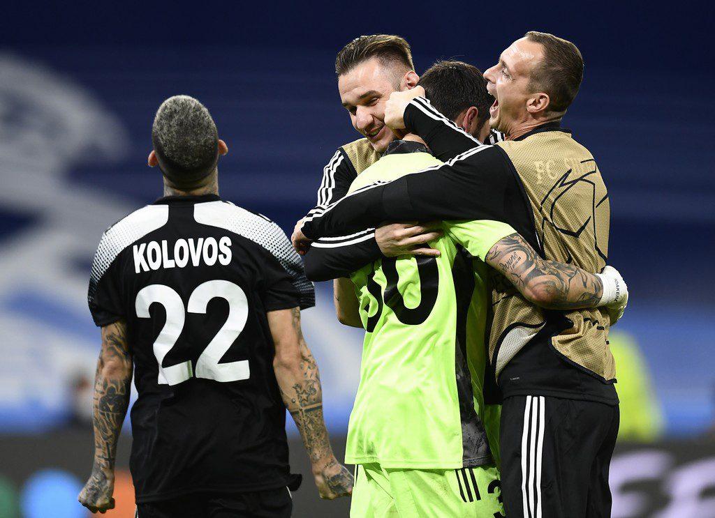 Champions League: «Βόμβα μεγατόνων» από την Σέριφ Τίρασπολ στη Μαδρίτη με ήρωα τον Αθανασιάδη (1-2 τη Ρεάλ)