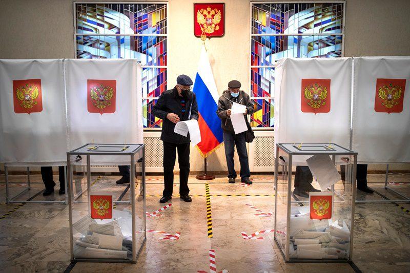 Ρωσία-εκλογές: Υποχωρεί το κόμμα Πούτιν, ανεβαίνουν οι κομμουνιστές