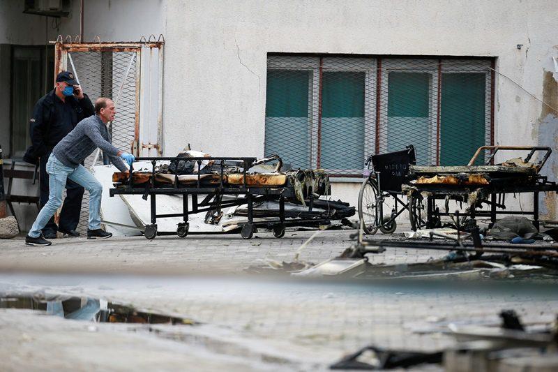 Βόρεια Μακεδονία: Παραιτήθηκε ο υπουργός Υγείας μετά την πυρκαγιά με 14 νεκρούς σε μονάδα Covid-19