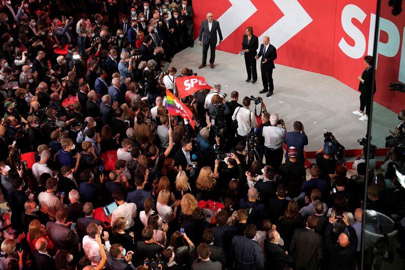 Γερμανικές εκλογές: Περνούν μπροστά οι Σοσιαλδημοκράτες