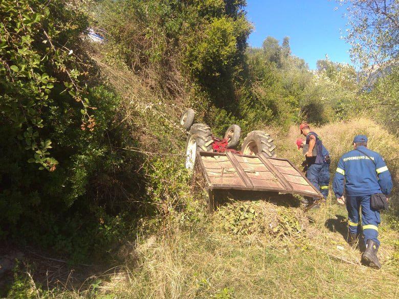 Αγρίνιo: Νεκρός 43χρονος πατέρας δύο παιδιών από ανατροπή τρακτέρ