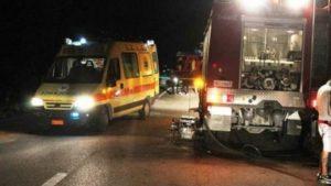 Θρήνος στην Εύβοια: Δύο 19χρονοι νεκροί σε τροχαίο με μηχανή