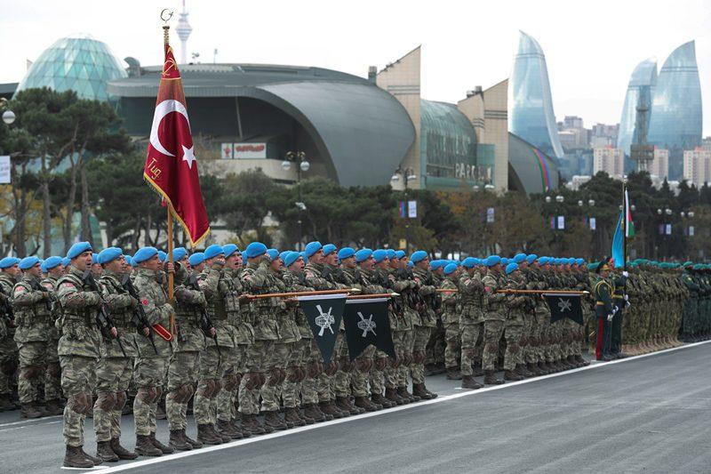 Κοινές στρατιωτικές ασκήσεις Αζερμπαϊτζάν, Τουρκίας και Πακιστάν στο Μπακού