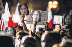 Τέσσερα χρόνια από τη δολοφονία της Γκαλίζια