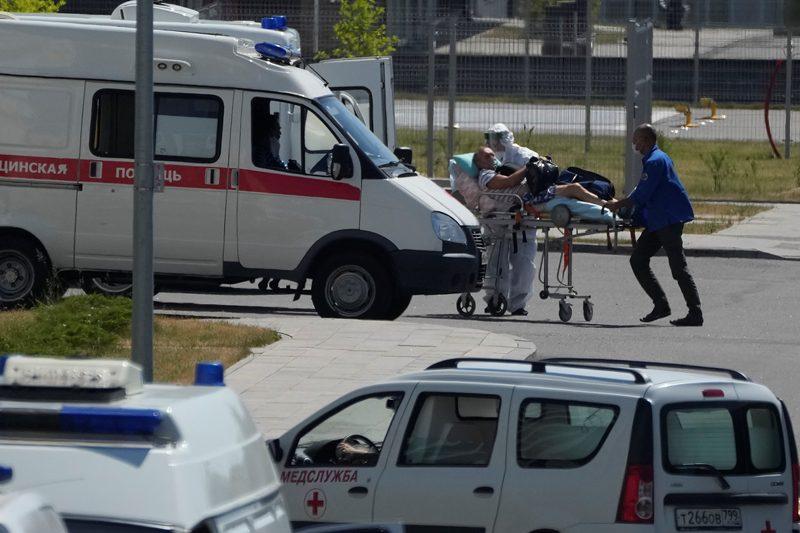 Ρωσία: Νέο ρεκόρ θανάτων από Covid-19, από την αρχή της πανδημίας
