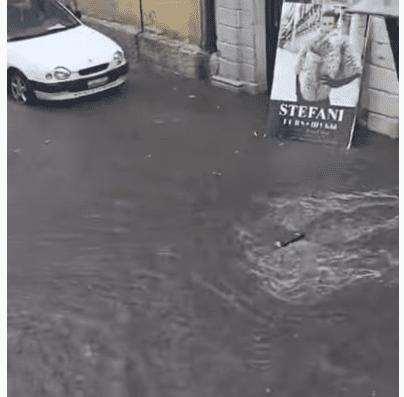 Προβλήματα στην Κέρκυρα από την κακοκαιρία «Αθηνά» – Ποτάμια οι δρόμοι (Video)
