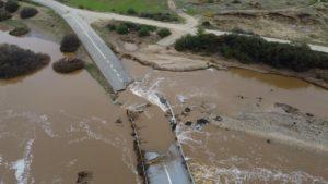 Σέρρες: Άνω – κάτω ο δήμος Βισαλτίας από υπερχείλιση ποταμού (εικόνες)