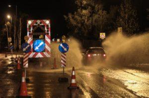 Συνεχείς οι διακοπές κυκλοφορίας σε δρόμους της Θεσσαλονίκης