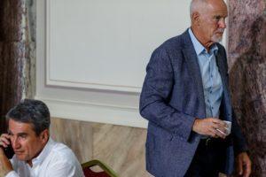 Σε εξέλιξη οι συναντήσεις του Γιώργου Παπανδρέου με τους υποψήφιους στο ΚΙΝΑΛ