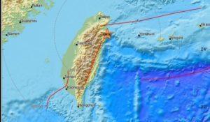 Σεισμός μεγέθους 6,5 Ρίχτερ στην Ταϊβάν