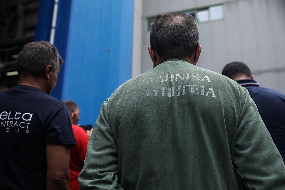Σωματείο Εργαζομένων Ναυπηγείων Σκαραμαγκά: «Παραδώσαμε πλοία που περιπολούν στο Αιγαίο καιο Μητσοτάκης μαςδυσφημεί»