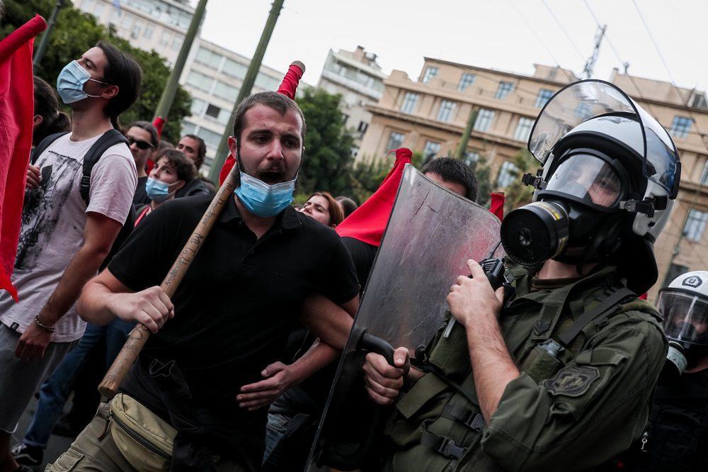 ΣΥΡΙΖΑ: Η κυβέρνηση Μητσοτάκη ήθελε να διαλύσει την αντιφασιστική συγκέντρωση στην Αθήνα