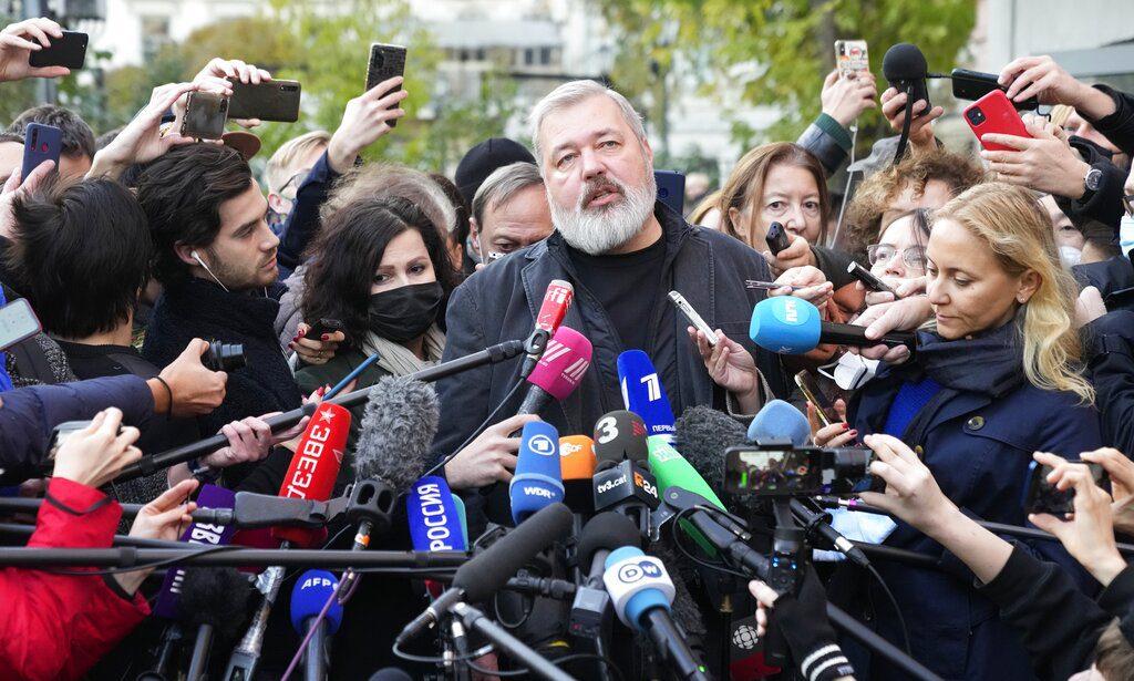 Πούτιν για Μουράτοφ: Αν παραβεί το νόμο, το Nobel Ειρήνης δεν θα τον σώσει
