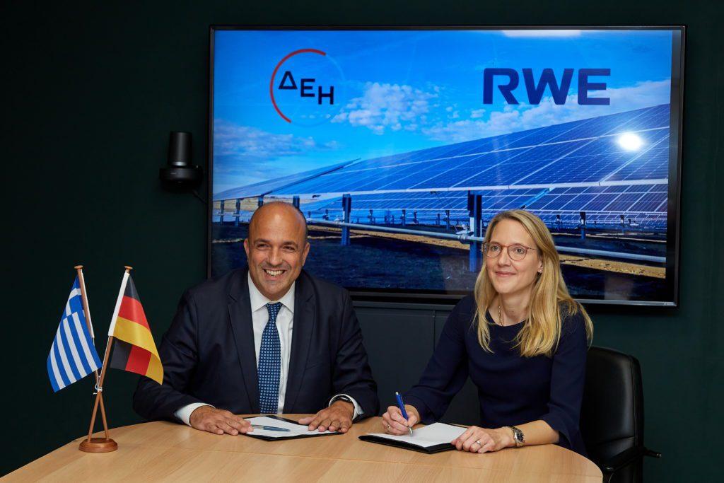 Ισχυρή σύμπραξη για την Ελλάδα: Η RWE και η ΔΕΗ δημιουργούν κοινοπραξία  για την υλοποίηση έργων ανανεώσιμων πηγών ενέργειας