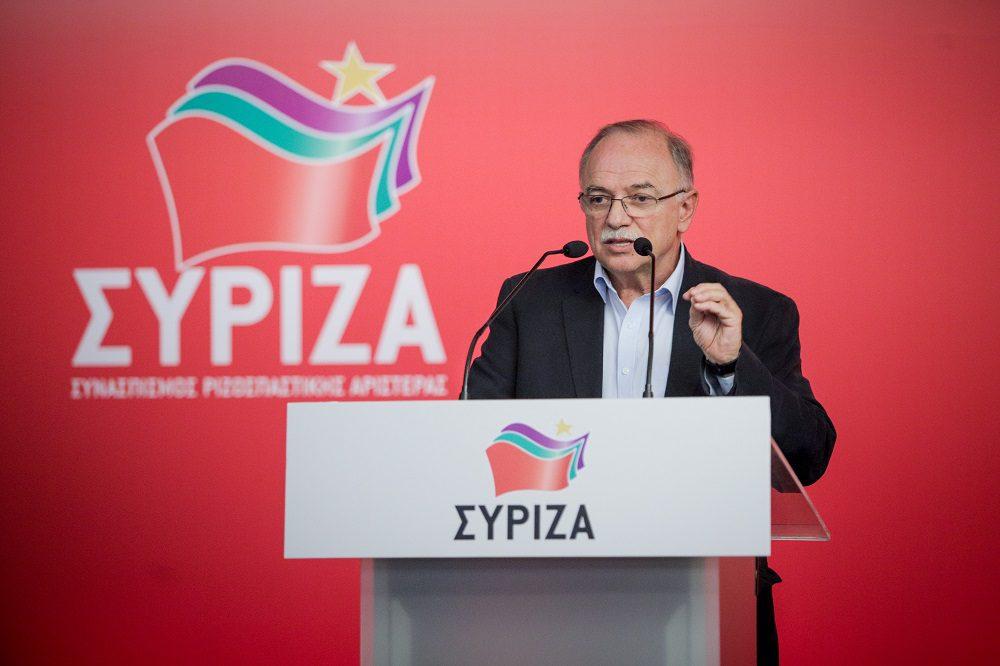 Παπαδημούλης: Η κυβέρνηση Μητσοτάκη να βγάλει από το ράφι το αίτημα για κυρώσεις κατά της Τουρκίας