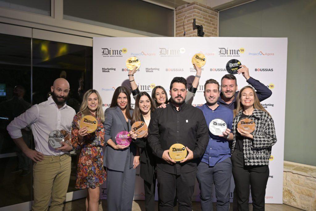 Brand of the year η Πλαίσιο στα Digital Media Αwards