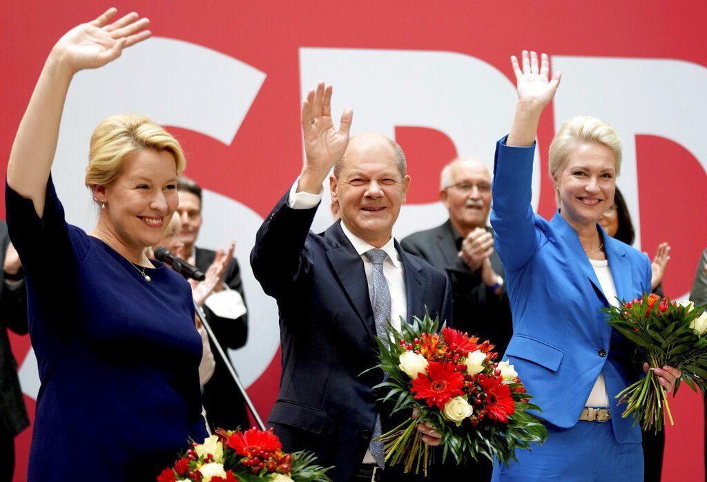 Γερμανία: Ανοδικές οι δημοσκοπήσεις για Σοσιαλδημοκράτες και Πράσινους